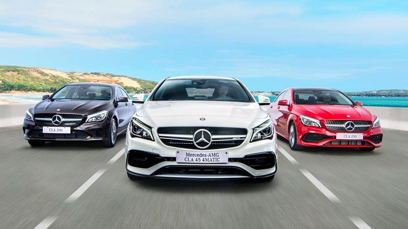 Ngoại thất ấn tượng của Mercedes CLA