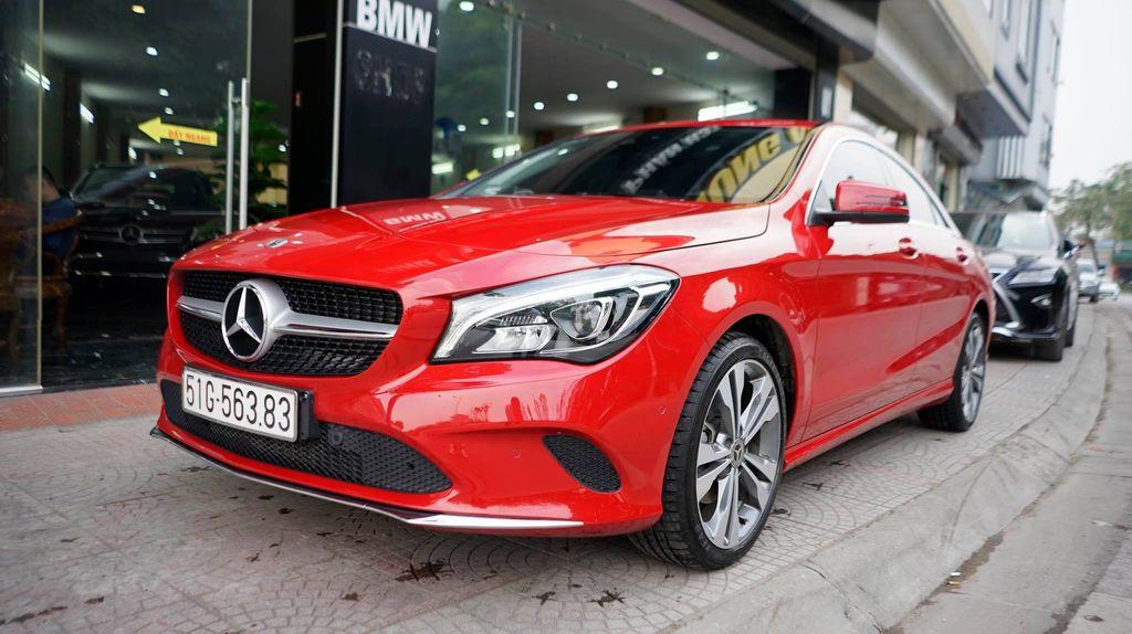 Nội thất khó cưỡng của dòng Mercedes CLA